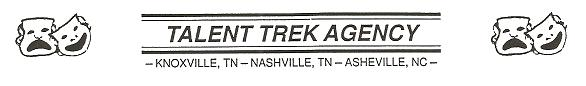 "treklogo 2/15   Monday Evening   TALENT TREK'S TALENT SCOUT  ""MEET THE AGENTS"" with ROBIN DAUGHERTY"